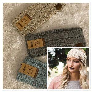 Soft Sherpa Lined Winter Headbands